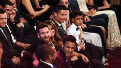 Esto es lo que ocurre cuando una estrella de cine coincide con Messi en unos