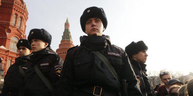 Ocho detenidos en Moscú y San Petersburgo por el atentado del