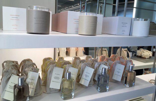 Las velas de Edición Limitada creadas para la inauguración de la tienda de Zara de la Castellana en