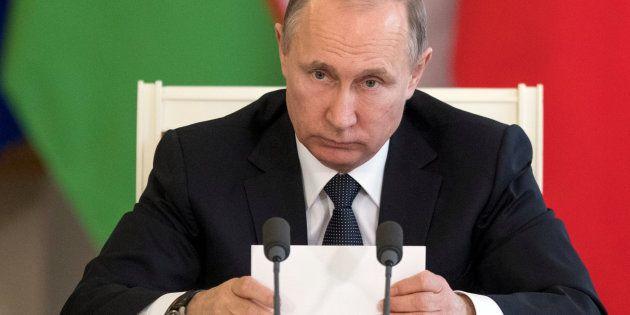 El presidente de Rusia, Vladimir Putin, en una imagen de