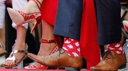 Los calcetines son la nueva corbata (y todo gracias a Justin
