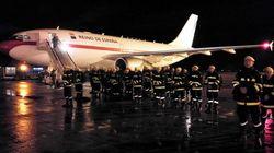 El emocionante adiós de Chile a los militares de la UME que han ayudado en los