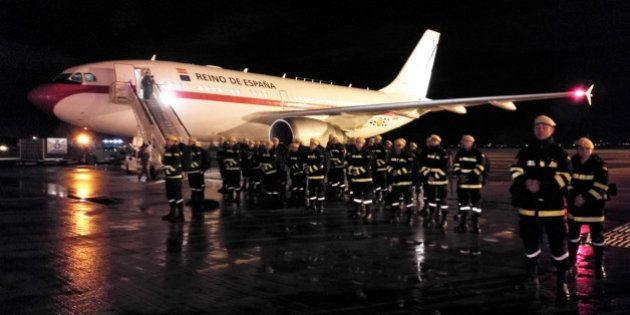El emocionante agradecimiento de Chile a los militares de la UME que han ayudado en los