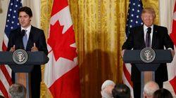 Trump trabajará con Canadá para
