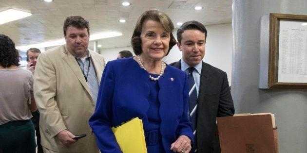 La senadora de EEUU por California Dianne Feinstein