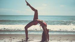 Esta profesora de yoga tiene un potente mensaje sobre la
