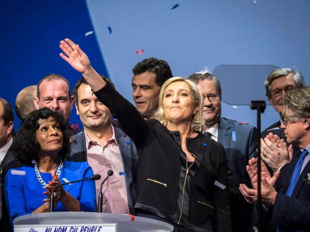 Le Pen, en