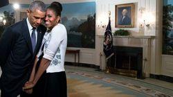 Obama derrite Twitter con su felicitación de San Valentín a