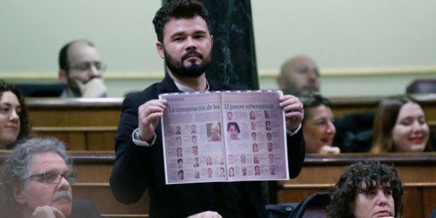 Rajoy, tras escuchar a Rufián en el Congreso: