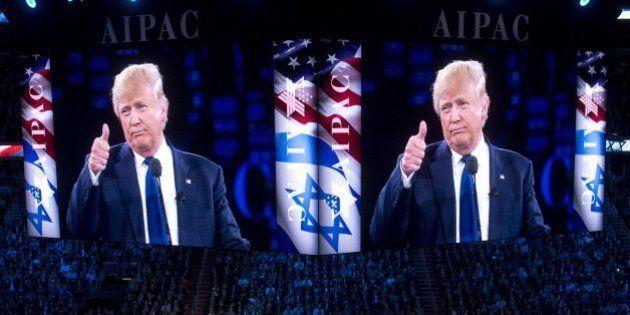Trump no considera esencial la solución de dos estados para la paz entre israelíes y