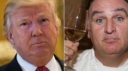 Trump y José Andrés resuelven 'de manera amistosa' su disputa casi dos años