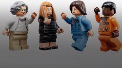 Lego lanza una colección llamada 'Mujeres de la