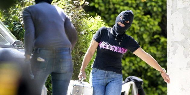 Confiscación de armas y explosivos de un arsenal de ETA en Biarritz (Francia) en