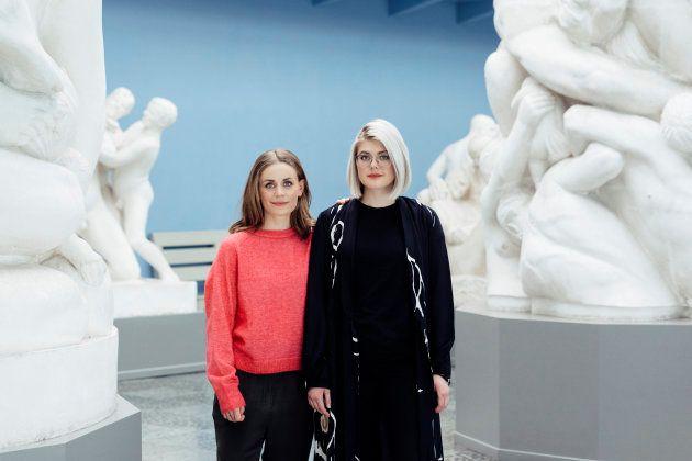 Nina Brochman (izquierda) y Ellen Støkken Dahl