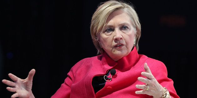 Imagen de archivo de la ex secretaria de Estado de EEUU, Hillary