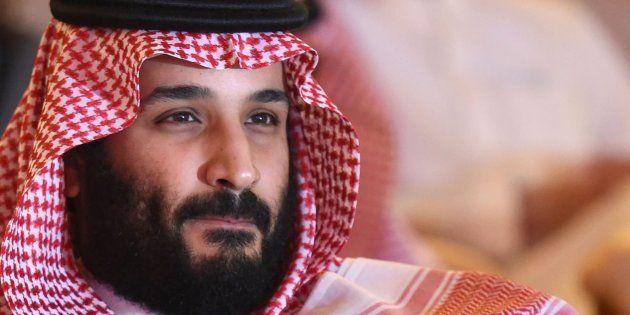 Imagen de archivo del príncipe heredero de Arabia Saudí, Mohamad bin