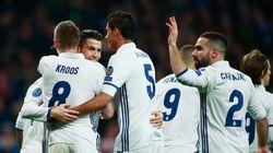 El Madrid golpea primero al Nápoles