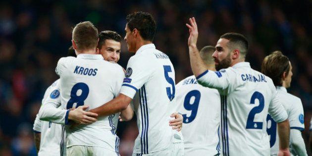 El Madrid gana al Nápoles (3-1) en la ida de octavos de la