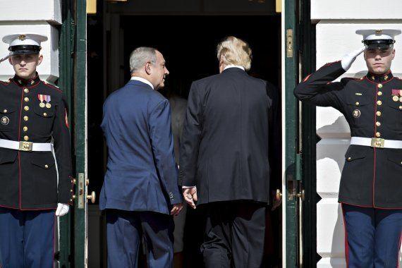 Trump promete alentar a Israel y Palestina a negociar un