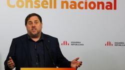Junqueras dice que el Gobierno no ha dado otra opción que proclamar una nueva