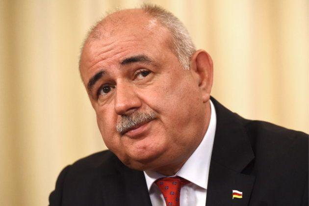 El ministro de Asuntos Exteriores de Osetia del Sur, Dmitry