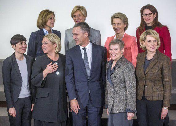 El avance del poder femenino: la OTAN tiene siete ministras de