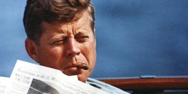 Imagen de archivo del presidente John F.