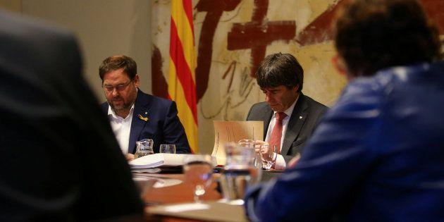 Puigdemont acusa al Gobierno de sobrepasar los límites del 155