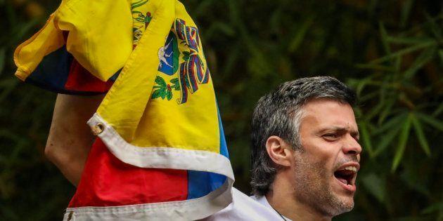 Imagen de archivo del opositor venezolano Leopoldo