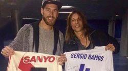 El curioso regalo de Caniggia a Ramos tras la victoria del Madrid en el