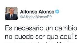 El exministro Alfonso Alonso la lía con este tuit sobre cobrar sin