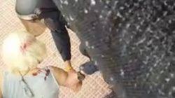 La PAH denuncia brutalidad policial en este desahucio en