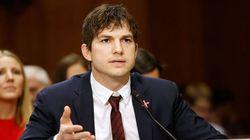 Ashton Kutcher pide al Congreso de EEUU combatir la explotación sexual