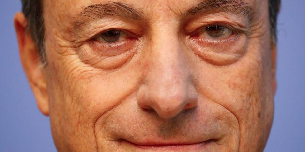 Mario Draghi, presidente del Banco Central
