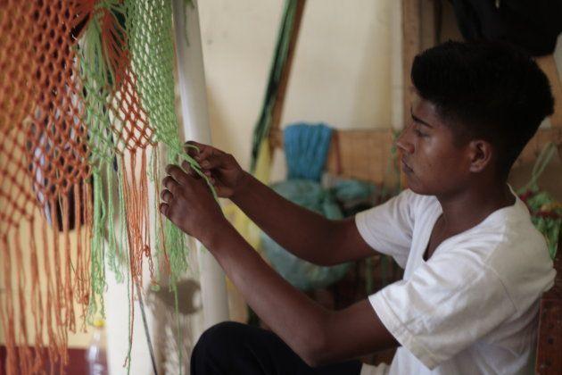 El Centro Social Tío Antonio cuenta con un taller de hamacas artesanales que ya se han vendido y enviado...