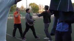 Un partido de juveniles en La Rioja se convierte en un ring de boxeo entre un padre y una