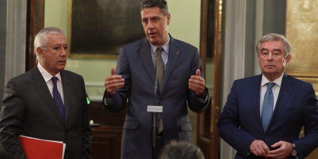 El tuit de García Albiol tras conocerse que Puigdemont suspendía su comparecencia que incendia Twitter......