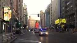 La Gran Vía de Madrid, cortada por una falsa alarma relacionada con un vehículo