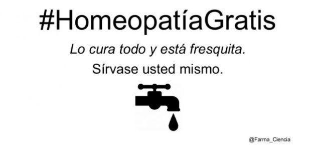 #HomeopatíaGratis, el épico troleo en Twitter a la homeopatía y los