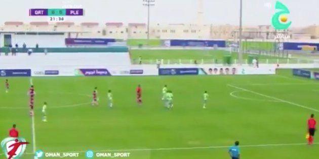 Precioso gesto deportivo en este partido entre los infantiles de Catar y