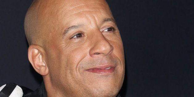 Vin Diesel, en el estreno de 'Fast&Furious 8' en Nueva York el 8 de abril de
