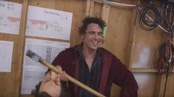 James Franco se disfraza de Jack Nicholson en 'El