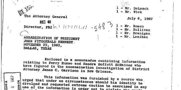 Uno de los informes publicados sobre el asesinato de