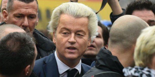El candidato utraderechista holandés promete expulsar