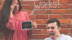 El anuncio de embarazo de esta pareja ha enloquecido a la