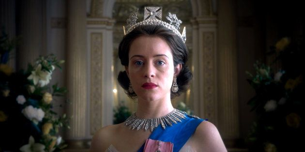 Claire Foy como Isabel II en 'The