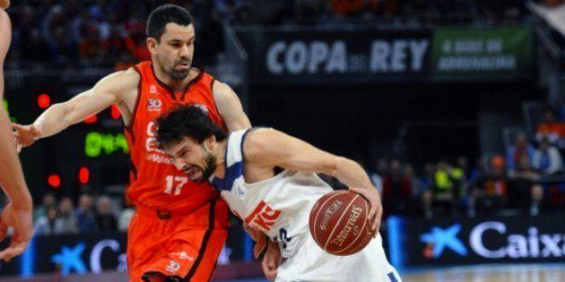 El Real Madrid, campeón de la Copa del Rey de baloncesto al ganar al Valencia Basket