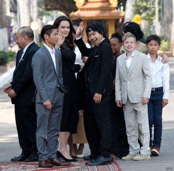 Angelina Jolie habla por primera vez tras su separación de Brad Pitt: