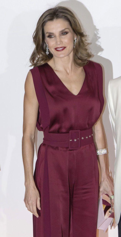 La reina Letizia en la entrega de los premios 'Mariano de Cavia', 'Mingote' y 'Luca de Tena' , el 26...