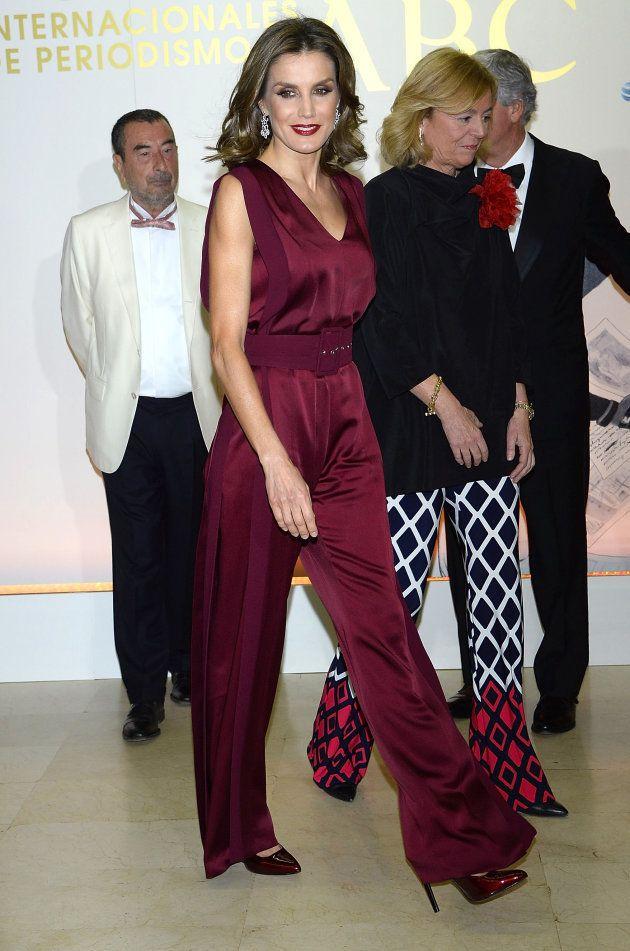 Letizia en los premios 'Mariano de